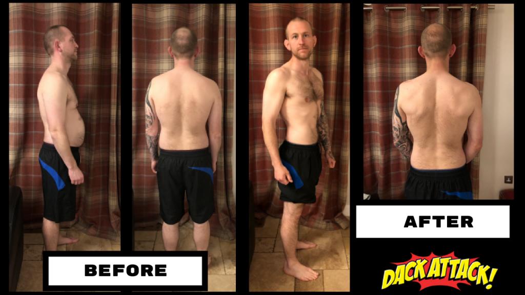 Jamie Gooch Transformation Story